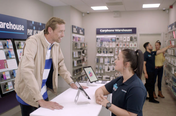 Peter Crouch Reflects on His Football Career in Carphone Warehouse 'Switcheroo' Ad