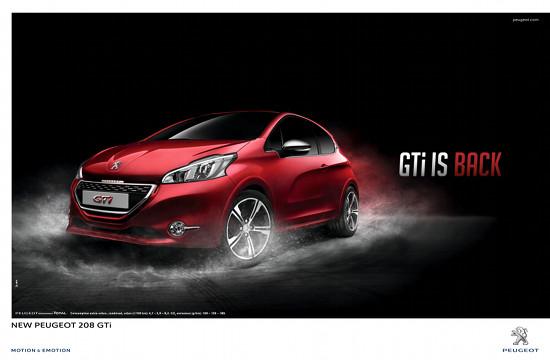 BETC Paris Launches New Peugeot 208 GTi