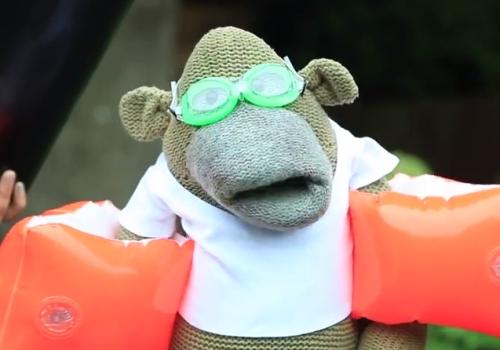 PG Tips' Monkey Takes On the #IceBucketChallenge