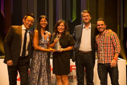 PHD Scoops 'Media Network of the Year' at Spikes 2014
