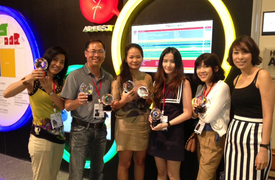 JWT Shines at Adfest 2013