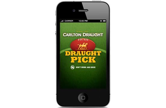 Carlton Draught - Draught Pick 2013