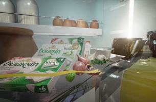 Take a Pint-sized Journey Through a Fridge with This Boursin VR Experience