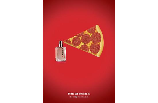 Australian Pizza Hut Perfume Ad