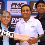 PMG pulls in Virender Sehwag