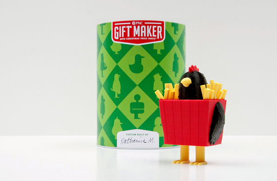Deutsch NY's 3D 'Gift Maker' for PNC Bank