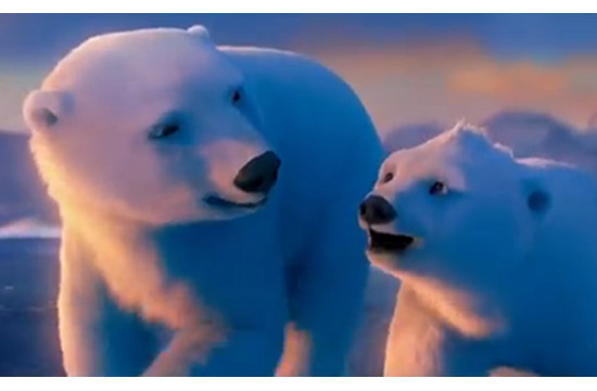 Short Film Introduces Coca Cola Polar Bears