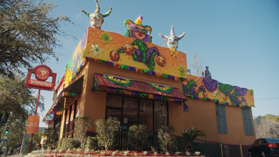 The Good Times Never Stop Rolling in Popeyes' Campaign Celebrating New Orleans