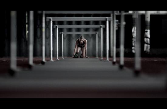 Powerade Encourages Athletes to 'Power Through'