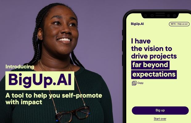 AnalogFolk Launches AI Tool BIGUP.AI to Coincide with IWD 2020