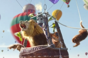 Ogilvy Paris' Hot Air Balloon Party for Perrier is Absolute Madness
