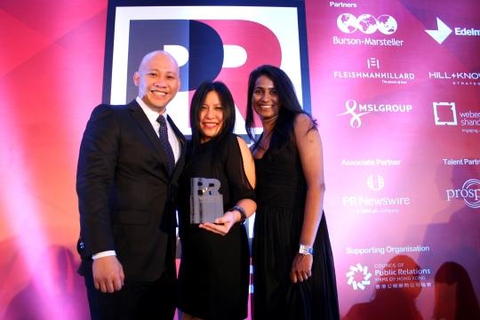 Leo Burnett Malaysia Wins Gold at PRWeek Asia 2014
