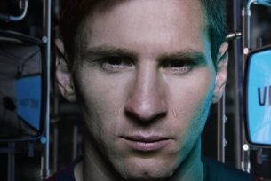 Lionel Messi Cries Bitter-sweet Chocolate Tears in W+K Amsterdam's FIFA Film