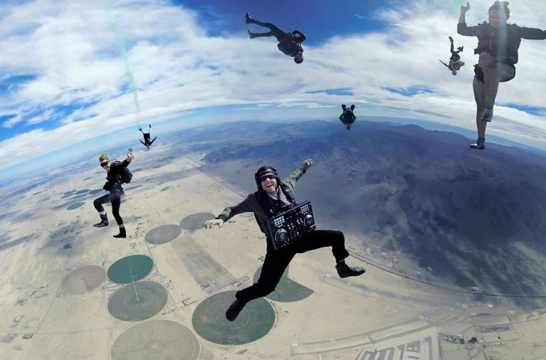 Mountain Dew Drops the Beat with High-flying Skydiving VR Experience