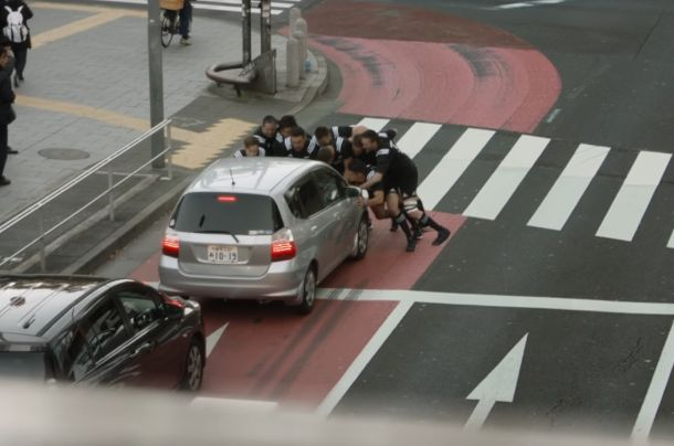 The All Blacks Tackle Tokyo for Good in Surprising AIG Insurance Film