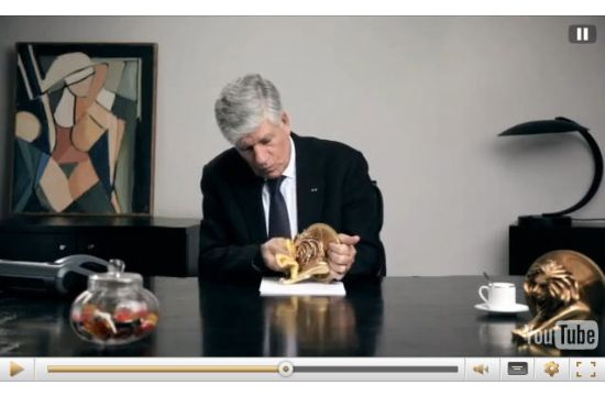2013 Greetings from Publicis' Maurice Lévy