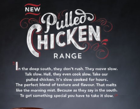 Jelly's Alison Carmichael Brings Some Tasty Typography to KFC Ads