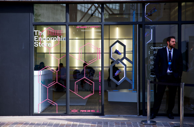 Puma Gives Londoners a Natural Boost with Pop-Up Endorphin Store