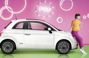Krow Goes Neon for FIAT's New Spring/Summer Campaign