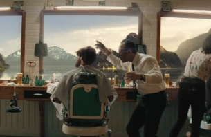 New Carlsberg Ad Features the Craziest Haircut You've Ever Seen