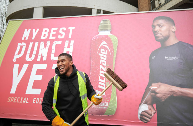 Why Has Anthony Joshua Been Putting up Billboards of His Own Face?