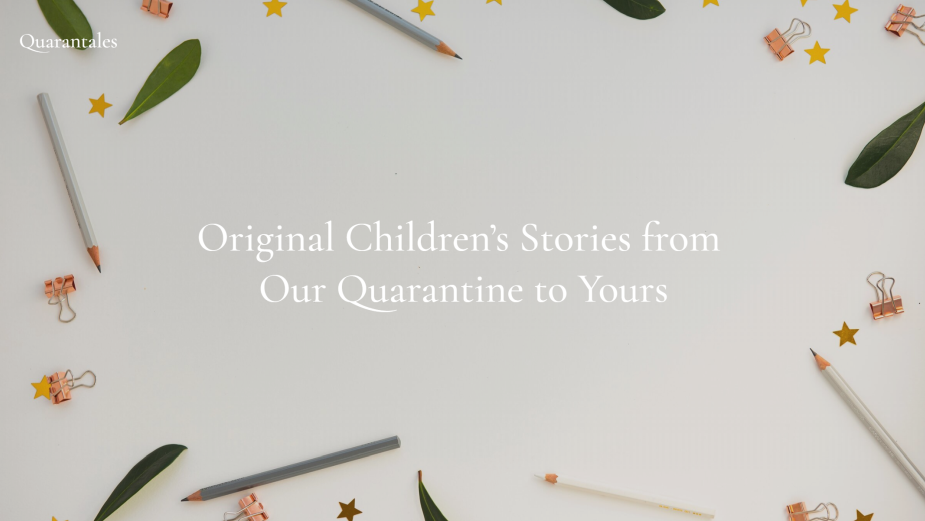 Quarantales: Personalised Kids Stories Written by an Ad Agency Husband and Wife Team