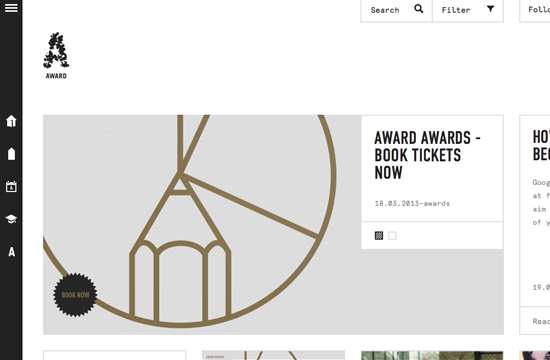 AWARD Launches Mobile Website