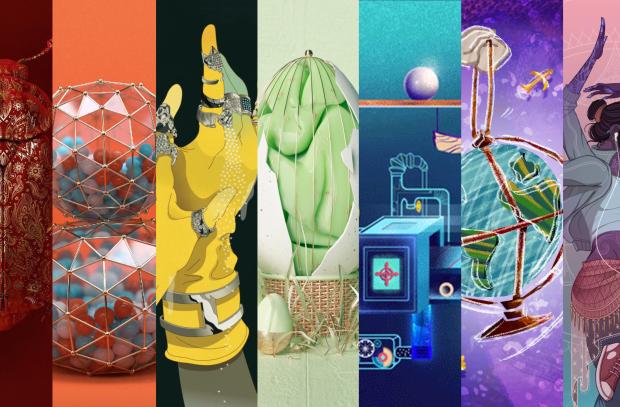 NERD's 'Illustration Rainbow' Is a Celebration of Visual Vibrancy
