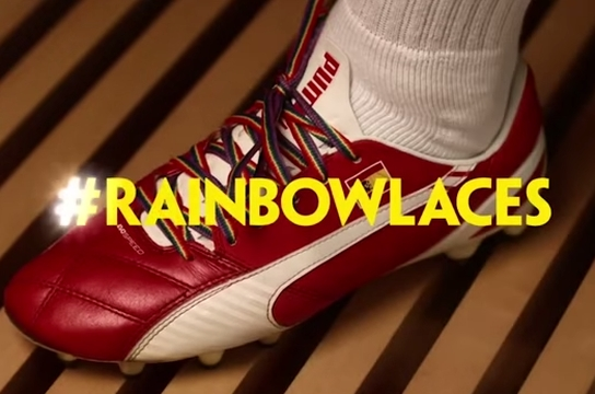 Paddy Power Gives Homophobia the Red Card with Rainbow Laces' Return