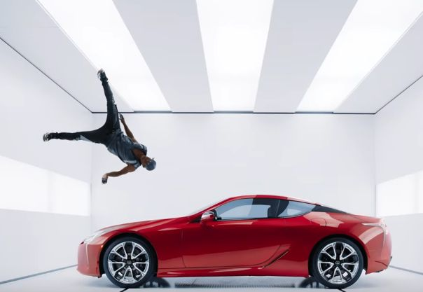 Man and Machine Come Together in Lexus' New Super Bowl Spot