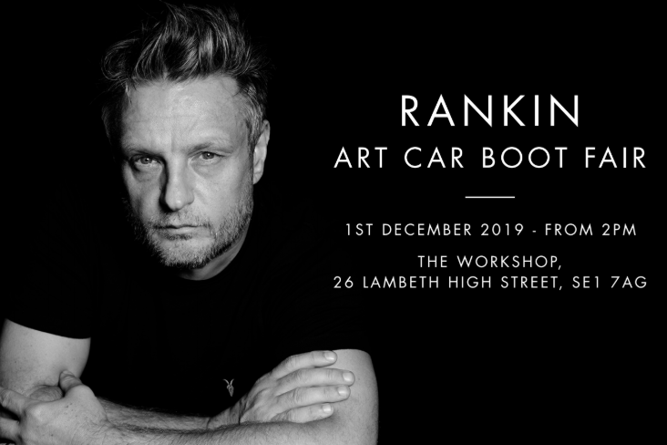 Rankin Teams with Art Car Boot Fair for Pre-Christmas Event