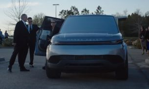 Land Rover Creates Futuristic Range Rover Sport for Hulu's Original Drama Series 'The First'