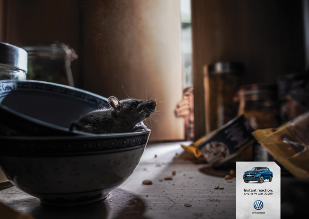 These Volkswagen Print Ads Are Sure to Elicit an 'Instant Reaction'