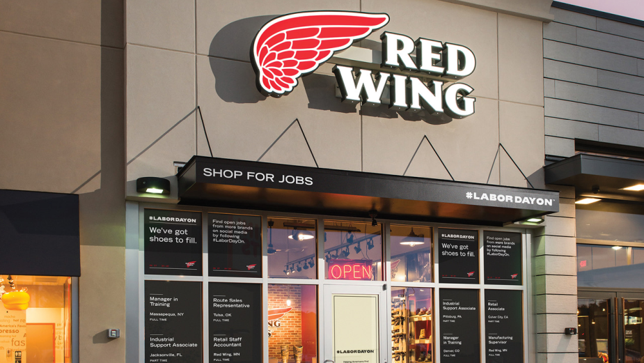 Red Wing Shoes is Turning Its Stores into Job Hubs with #LaborDayOn Movement