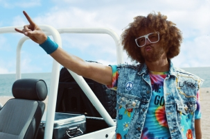 Musician Redfoo Gets His Summer Groove On with Malibu