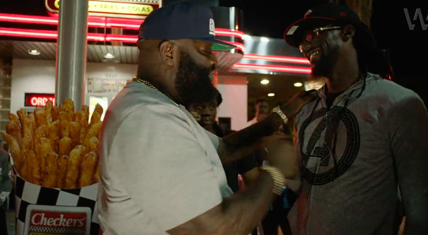 Hip-Hop's Rick Ross 'Buys Back the Block' with Checkers Franchise