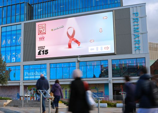 Ocean Outdoor Rocks the Ribbon on London's Biggest Full Motion Retail Screen
