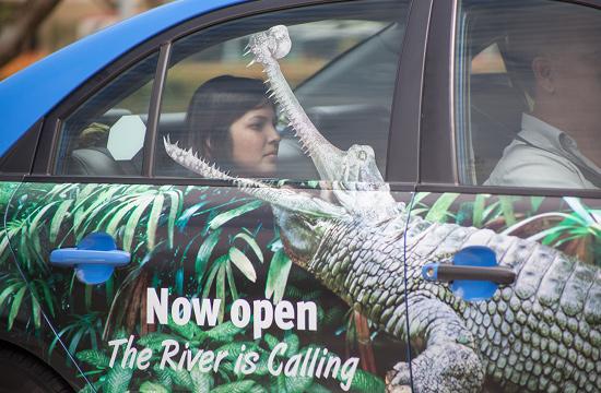 Blak Labs' Immersive Campaign for River Safari