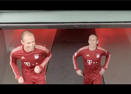 'Adidas – Robben vs. Robben'
