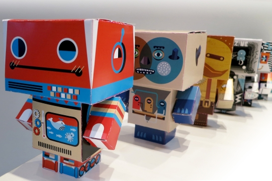 TBWA's DAN Explores the Science of Art & Robots for Standard Chartered