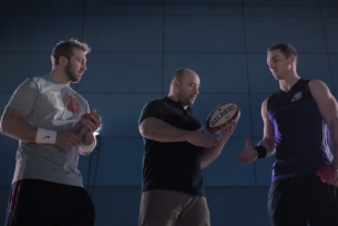 Rugby Stars Chris Robshaw & George North Face Off for MaxiNutrition Short