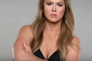 MMA Champion Ronda Rousey Brings a Knockout Breakfast to New Carl's Jr. Ad