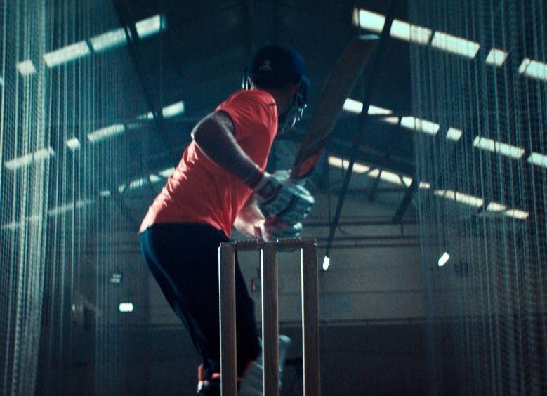 Cricketer Joe Root Battles His Future Self in New Balance Ad from BMB