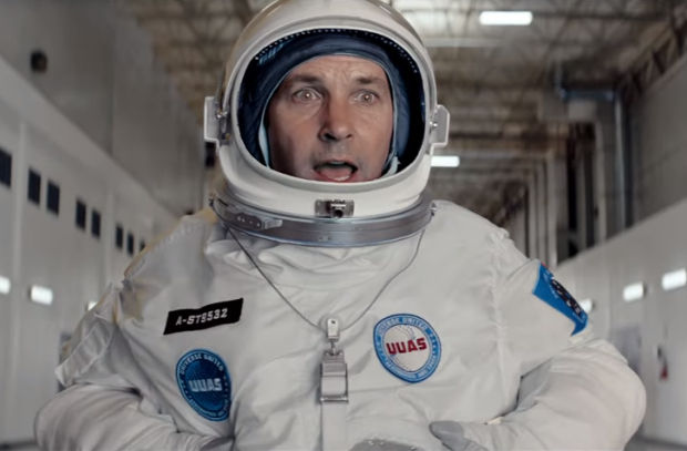 Paul Rudd and Michael Peña Venture to Space for the Love of Pepsi Max