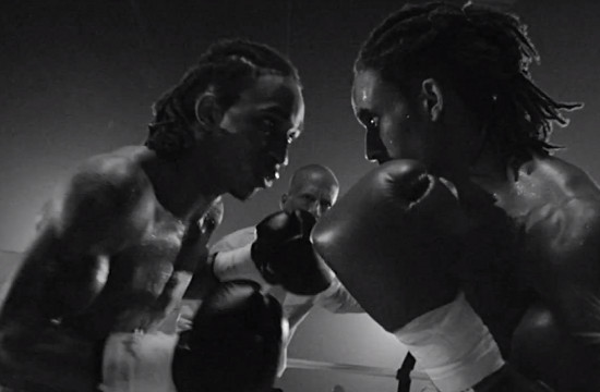 David Edwards Takes on Twin Boxers for Rudimental