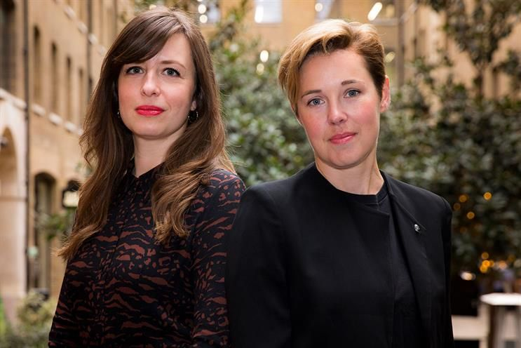 Droga5 London Promotes Heather Cuss and Rebecca Lewis to Joint Managing Directors