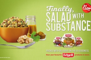 Get a Salad with Substance in BWM Dentsu's Edgell Salads Campaign