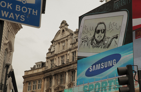 Piccadilly Circus Brought to Life