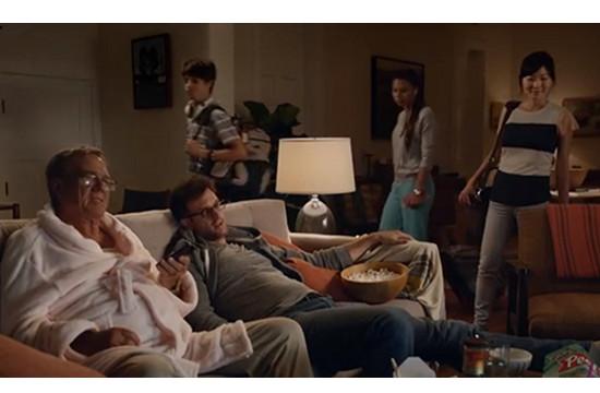 Samsung & 72andSunny LA Launch 'TV Family'