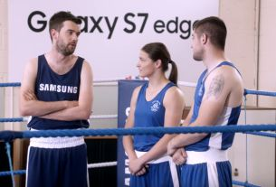 Jack Whitehall Gets Schooled Again in Samsung's Rio 2016 Olympic Campaign